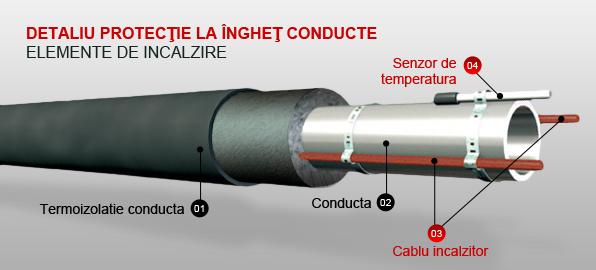 Detaliu Protectie La Inghet Conducte